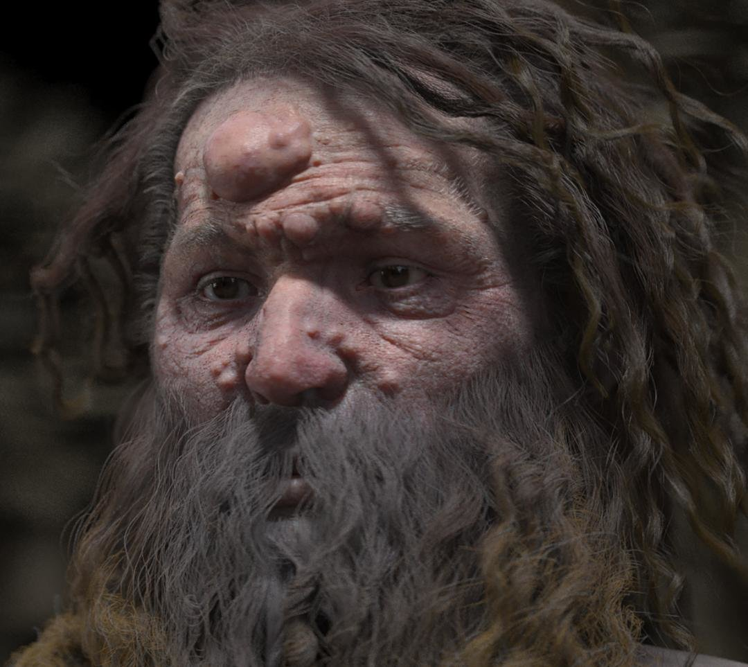Warts And All Researchers Reconstruct Face Of Cro Magnon Man