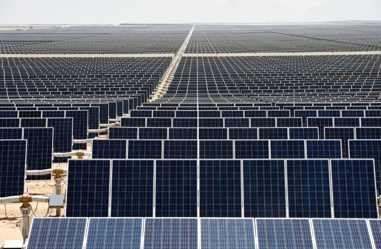 Latin America\'s largest solar park turns Mexican desert green