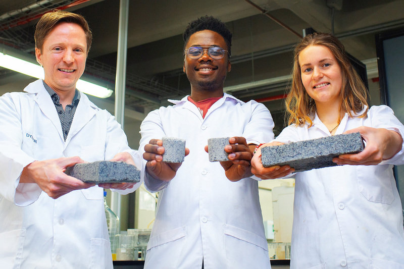 World's first biobricks grown from human urine