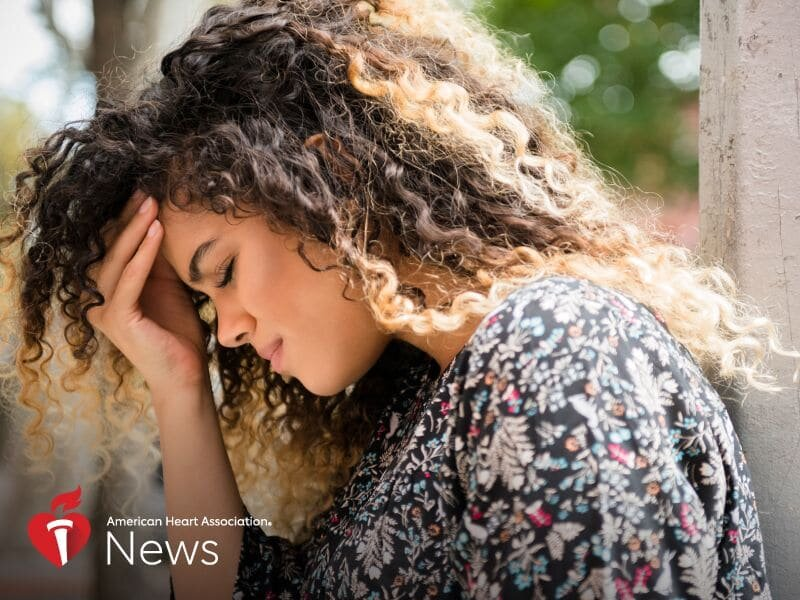 Younger stroke survivors more at risk for anxiety