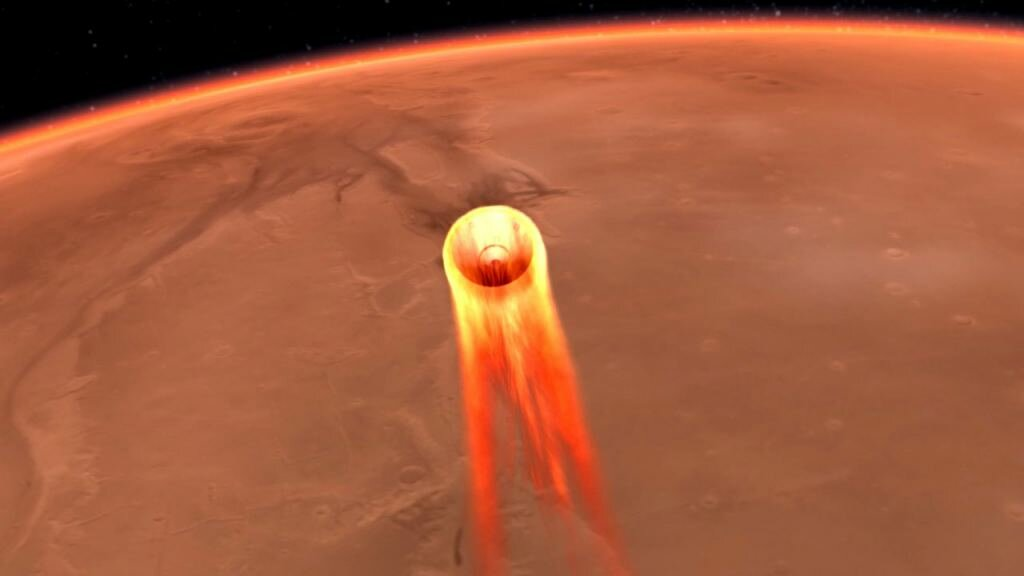 The incredible challenge of landing heavy payloads on Mars