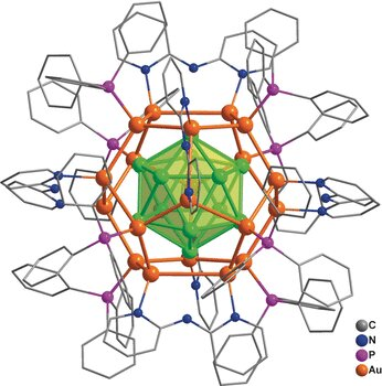 'Golden fullerene': ligand-protected nanocluster made of 32 gold atoms