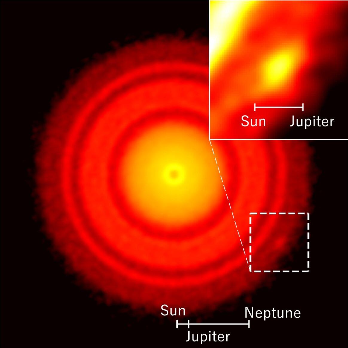 U blízké mladé hvězdy byl nalezen objekt, ze kterého by mohla vzniknout nová planeta