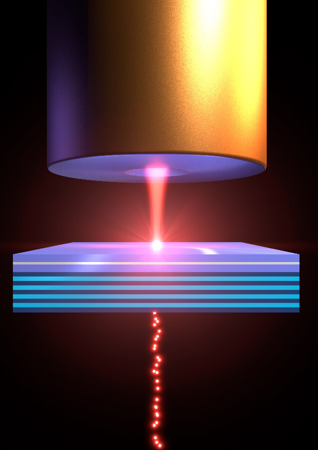 A polariton filter turns ordinary laser light into quantum light
