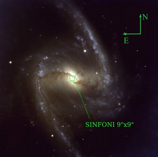 Astronomers study star formation and gas flows in the galaxy NGC 1365