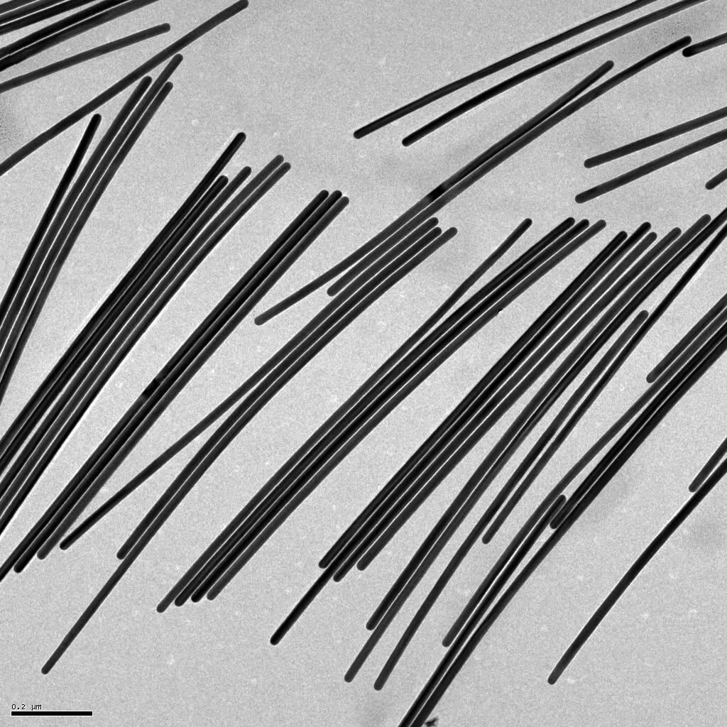 Dose of vitamin C helps gold nanowires grow