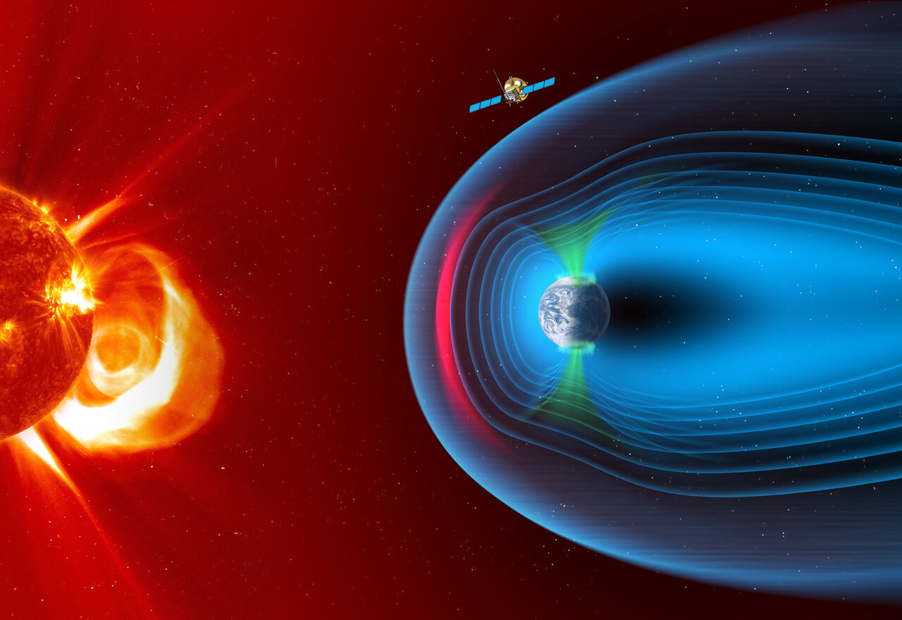 A new view on the solar wind interaction with the moon