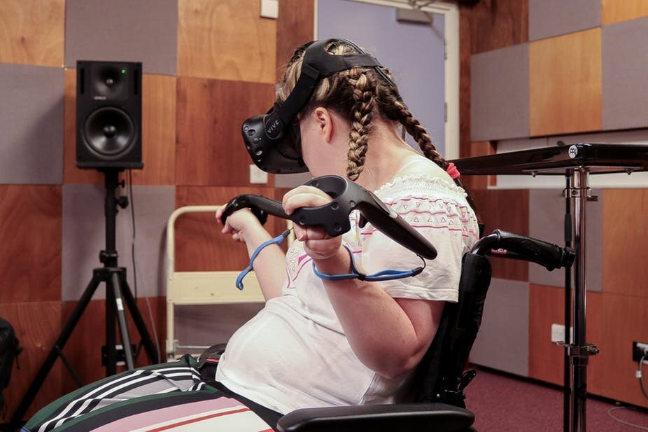 How we're designing musical instruments with the help of disabled musicians and VR