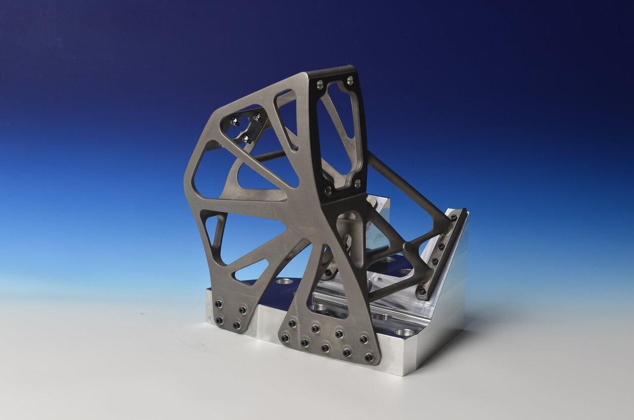 Image: Metal bracket in Ariane 5 is 3-D-printed in titanium