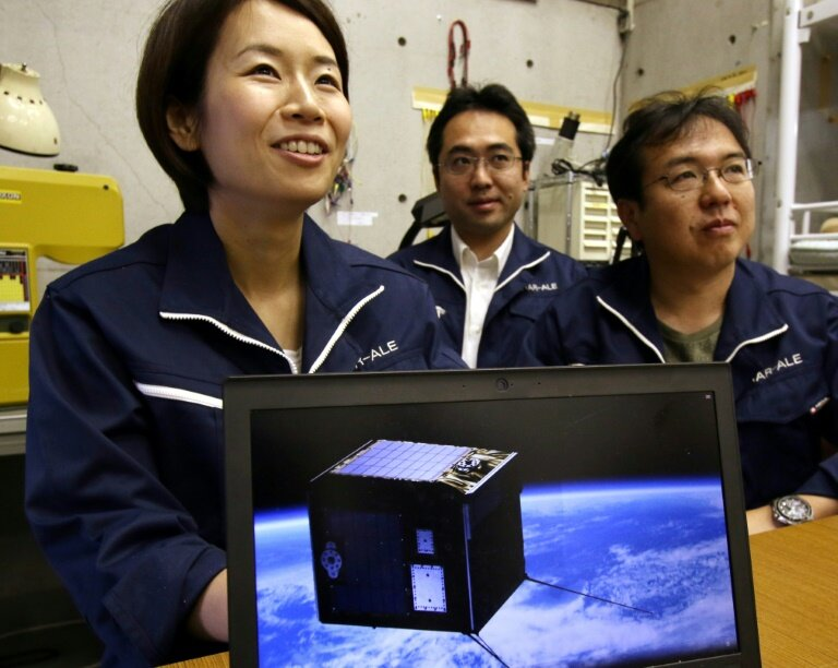 Japan satellite blasts into space to deliver artificial meteors