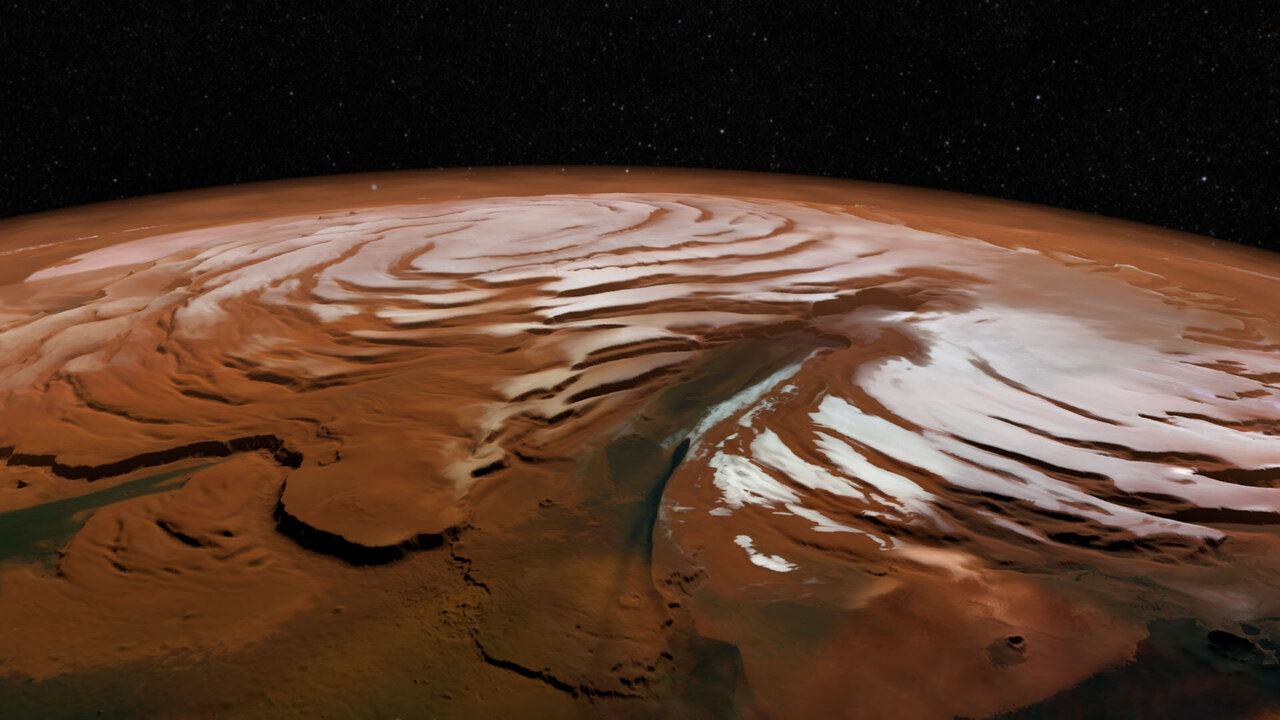 Massive Martian ice discovery opens a window into red planet's history