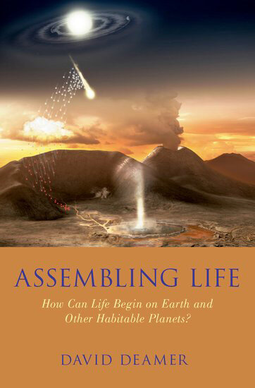 photo of New book by biochemist David Deamer explores the origins of life image