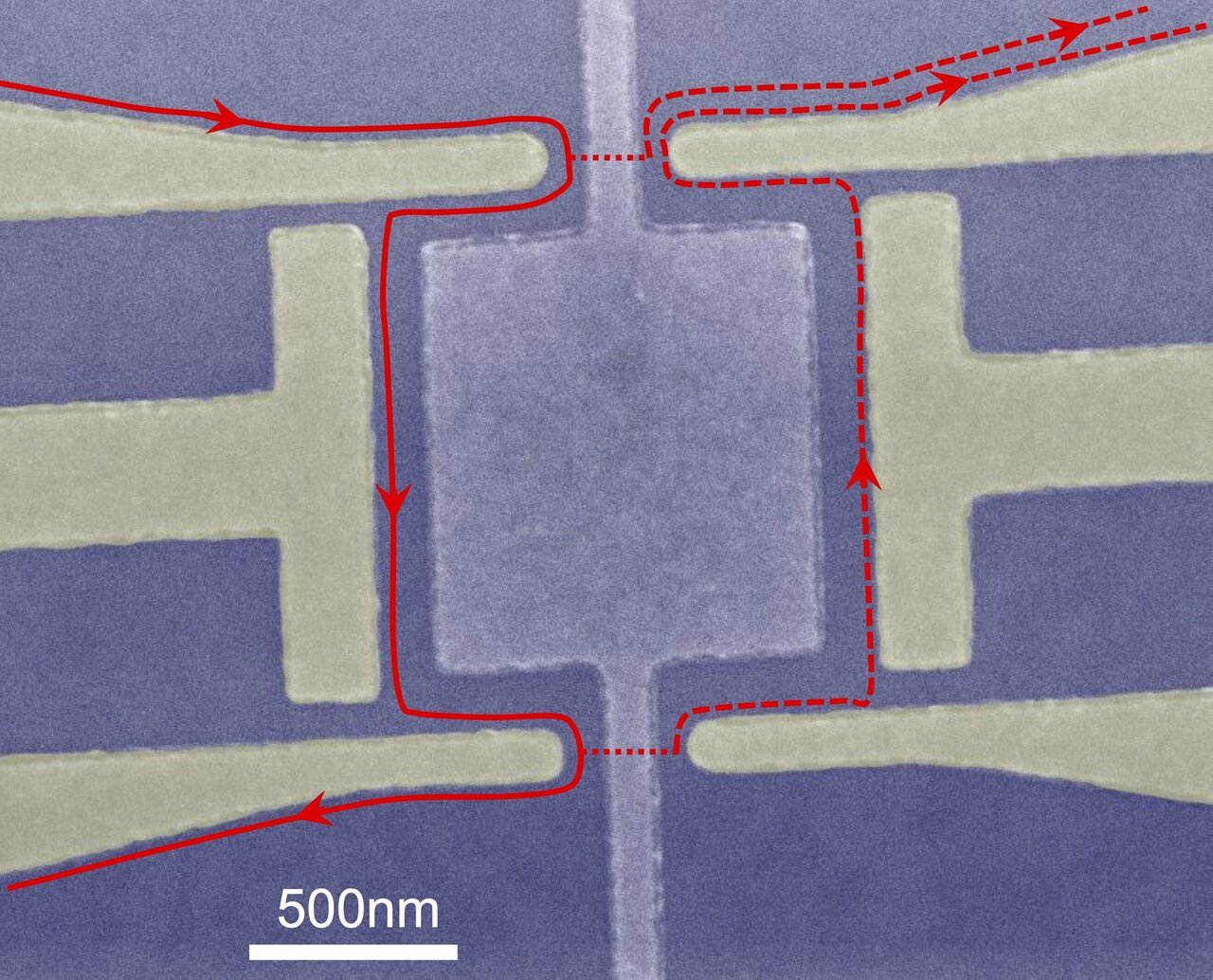 Quasiparticles experimentally shown to interfere for first time