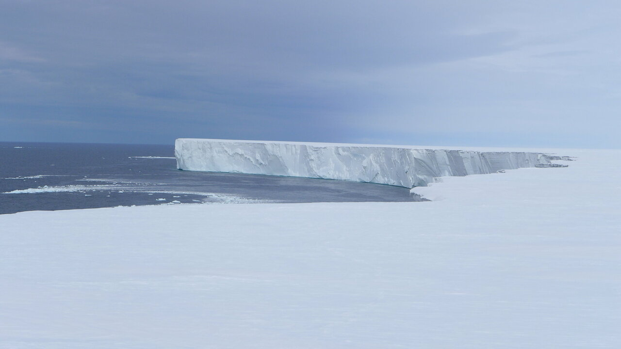 Rapid melting of the world's largest ice shelf linked to solar heat in the