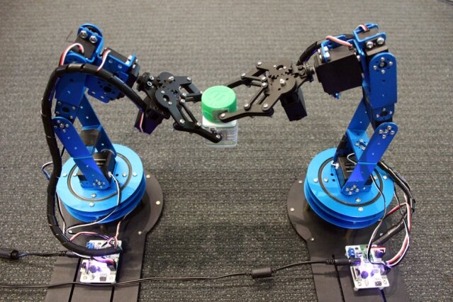 Robots Track Moving Objects Using Rfid Tags To Home In On