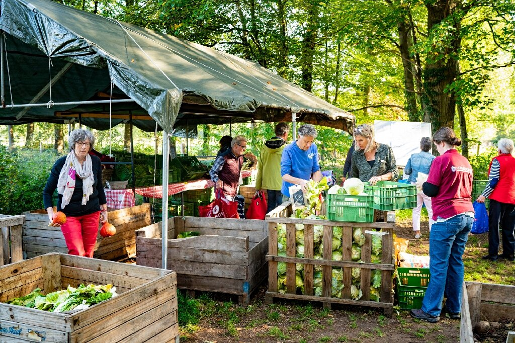 Dutch families join 'people's farm' to counter climate change