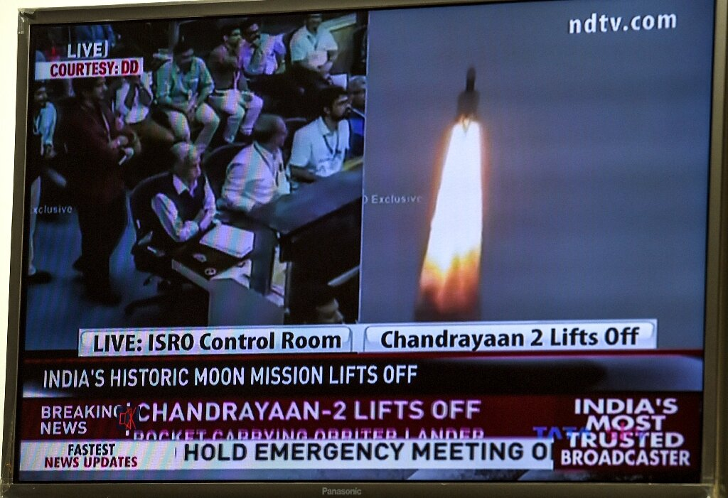 Proud India launches historic bid to put spacecraft on Moon