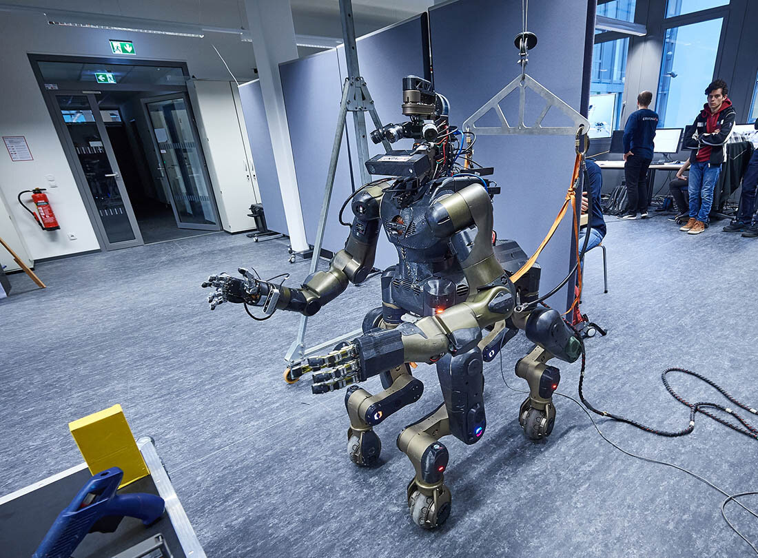 The robots being readied to enter nuclear no-go zones