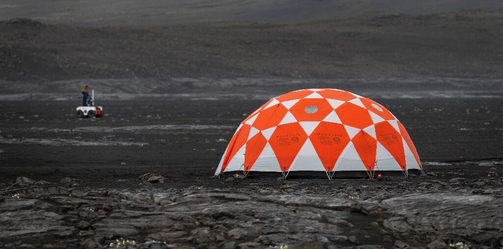NASA descends on Icelandic lava field to prepare for Mars
