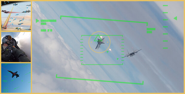 Training AI to win a dogfight