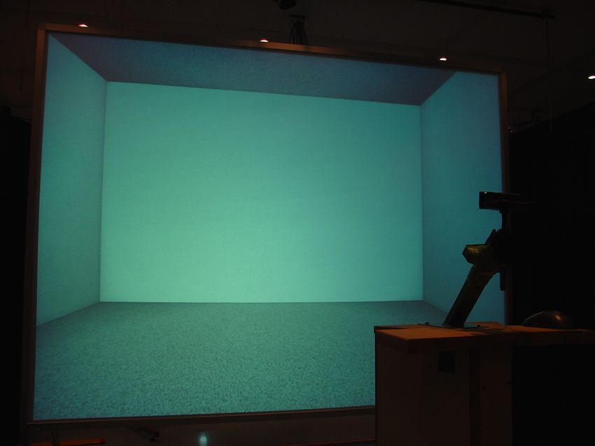 The experimental virtual rooms with their different relative color tone  schemes were displayed in 3D to a total of 32 volunteers who were then  asked to ...
