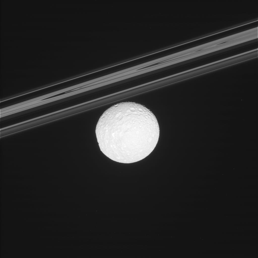 Cassini sends back postcards of Saturn moons