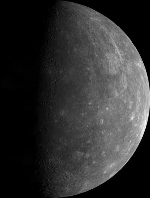 an analysis of the surface of the planet mercury in astronomy Mercury is the closest planet to our sun, the smallest of the eight planets, and one of the most extreme worlds in our solar systems named after the roman messenger of the gods, the planet is one.