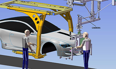 The Used Car Factory >> Spacecraft dockings improve car assembly