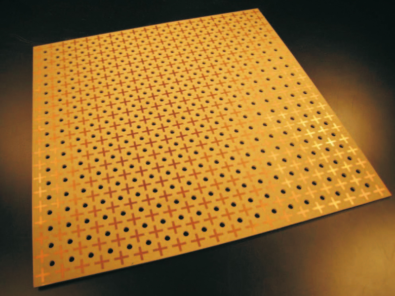 Beam Trap Full Of Holes Researchers Develop New Surfaces