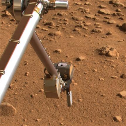 Martian soil may contain detrimental substance for What substances are in soil