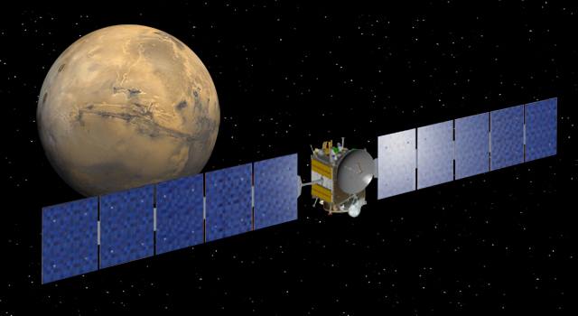 NASA Spacecraft Falling For Mars