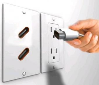 39 inlet outlet 39 lets users give power back to wall sockets for Last design outlet
