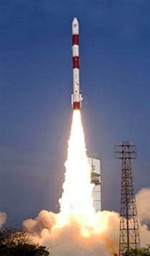 India Launches Seven Satellites Space Agency