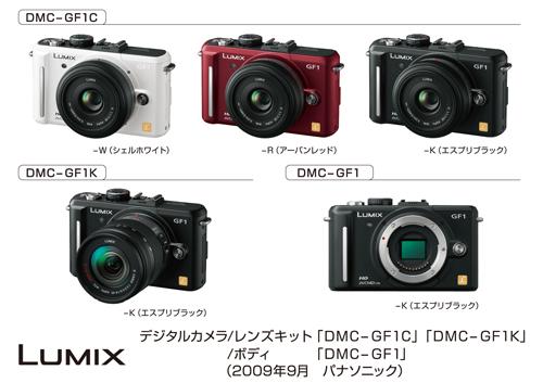 Panasonic Introduces New LUMIX DMC-GF1 Digital Camera