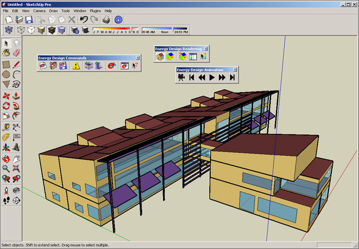 Software helps design energy stingy buildings w video for Construction layout software