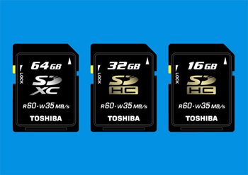 Toshiba To Launch First Sdxc Memory Card