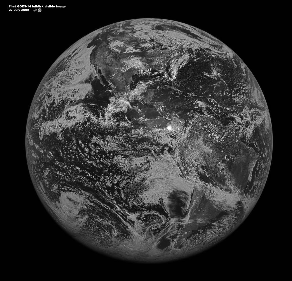 Satellite Takes First Full Disk Image - Latest world satellite images