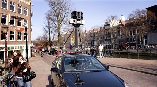 Angry British villagers stop Google maps car: report