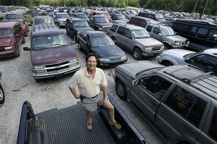 Cash For Clunkers >> 'Cash for clunkers' effect on pollution? A blip