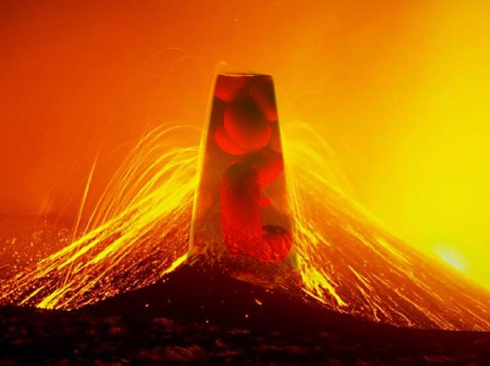 What's Inside A Lava Lamp Amazing Do Lava Lamps And Actual Lava Share Similar Characteristics