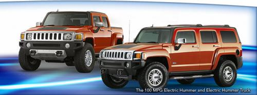 A Hummer That Gets 100 MPG?