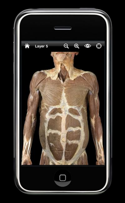 iPhone the body electric: New \'apps\' visualize human anatomy