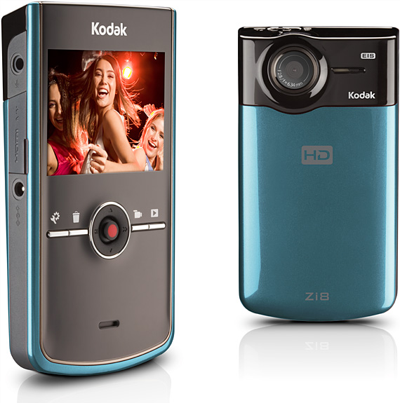 gadgets kodak zi8 takes great video for under 200 rh phys org Kodak Zi8 Instruction Manual Kodak Zi8 Camcorder Charger Pocket