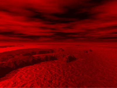 red planet mars surface - photo #14