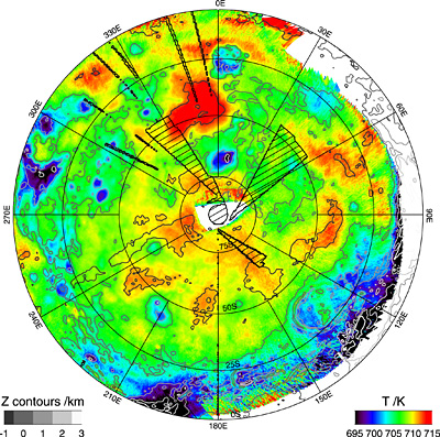 Thermal Map Of The World.New Map Hints At Venus S Wet Volcanic Past W Video
