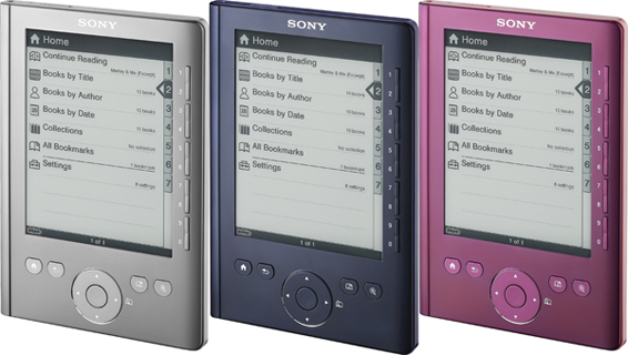 new sony e book reader 100 cheaper than kindle. Black Bedroom Furniture Sets. Home Design Ideas