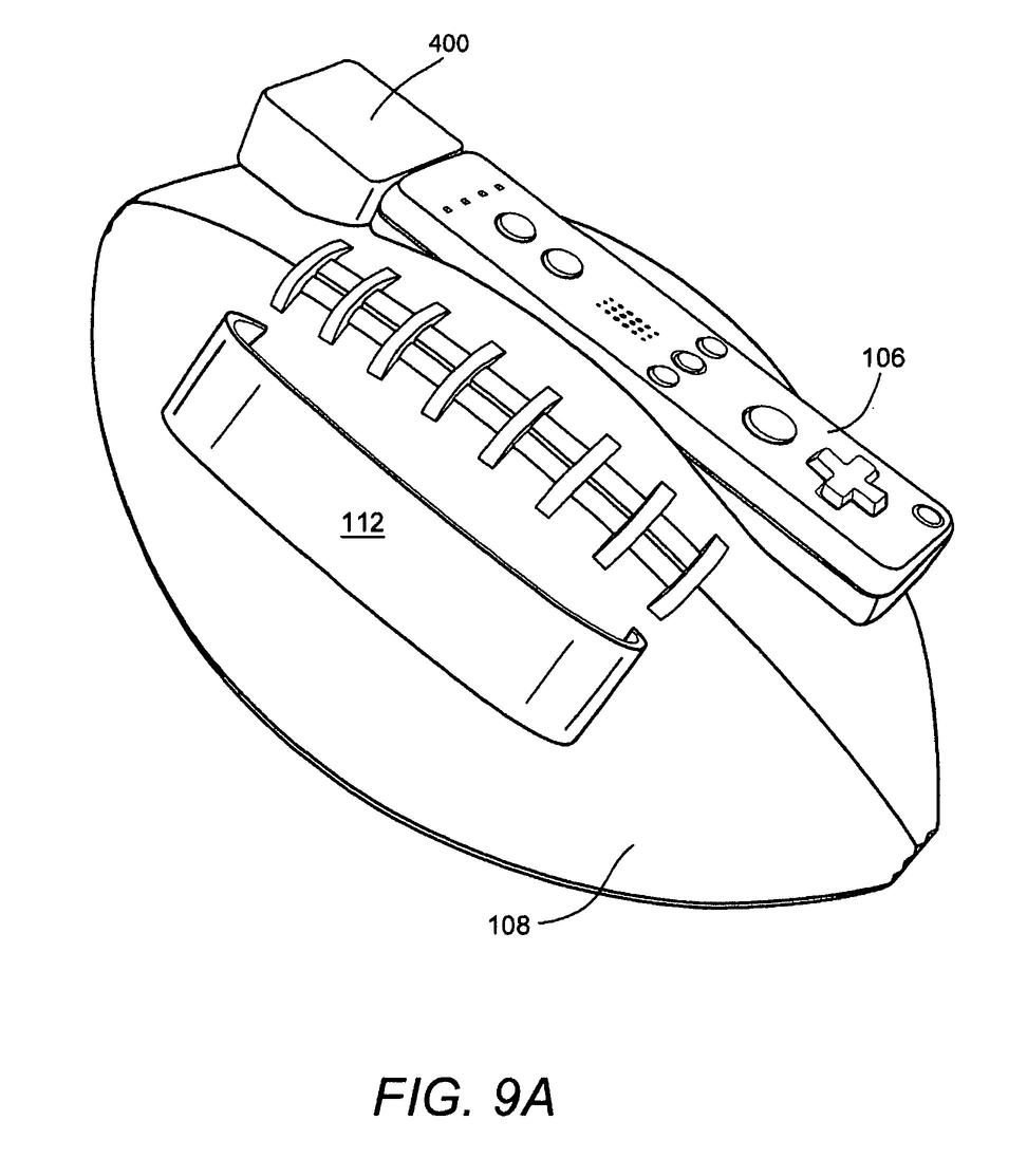 patent  nintendo u0026 39 s wii football controller