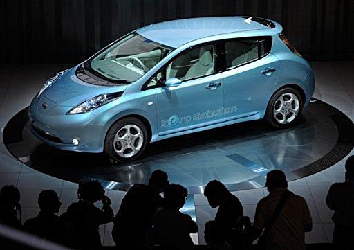 Nissans Leaf To Challenge Toyotas Prius Update