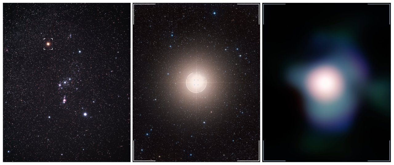 Sharpest Views Of Betelgeuse Reveal How Supergiant Stars Lose Mass
