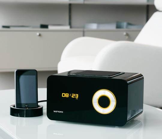 sonoro elements w wi fi internet radio works without a. Black Bedroom Furniture Sets. Home Design Ideas